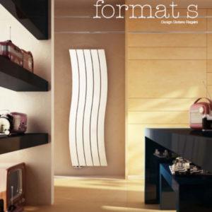 Дизайнерски алуминиев радиатор FORMAT S 1500 x 5-България Терм