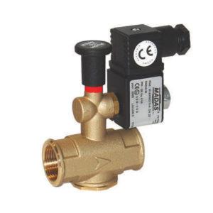 Електроклапан за газ отворен 1 цол - габарит 82 mm от България Терм
